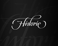 """""""Historie"""" - Calligraphy/Lettering"""
