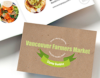 Vancouver Farmers Market Newsletter Redesign