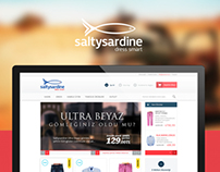 Saltysardine | E-Commerce UI/UX Design