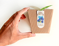 Little Planty- Plant seeds package design