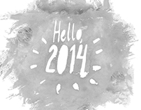 2013 in Learnings: Watercolor and Typography