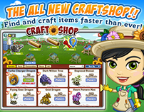 FarmVille Craftshop UI