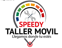 Logotipo Speedy Taller Movil