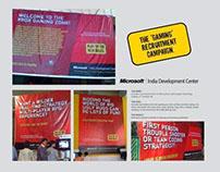 Microsoft India Development Center | Ambient Campaign