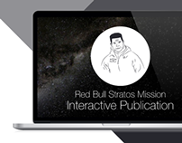 Red Bull Stratos Mission Interactive Publication