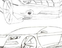 Transportation Design sketches