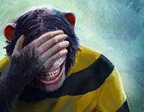 Bitten by an ape