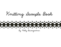 Knitting Sample Book