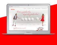 Messaging web app