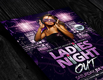 Ladies Night Out | Flyer Template