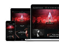 Plastique Responsive Website