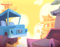 Backgrounds for CUT THE ROPE: UNEXPECTED ADVENTURE