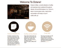 Octane Coffee Site Redesign