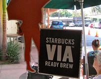 launch of Starbucks Via