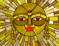 Window of Compassion - stained glass