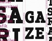 Designing a design newspaper