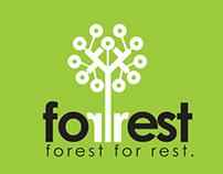 Forrest tree and bush nursery