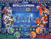 Season 2014 NFL. Previous by team and the Superbowl.