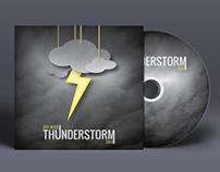 """""""Thunderstorm"""" album artwork & poster."""