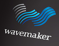 Wavemaker Logo & Visual Identity