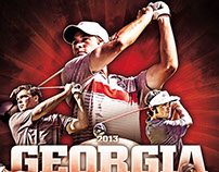 Georgia Golf Posters