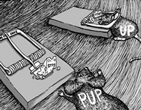 Editorial Cartoon on PUP's impending Tuition Fee Hike