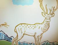 Fresco Deer