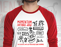Momentum Softball Shirt 2012