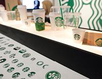Starbucks 40th Anniversary Brand Exhibit