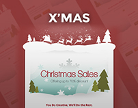 X'mas Email Template