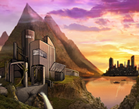 Factory Matte Painting