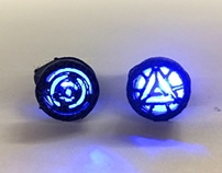 Ironman Arc Reactor Inspired Rings (work in progress)