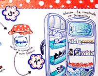 Compota de Figos Ilustrada