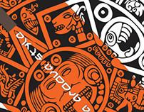 Aztec Surfa Groova Board Clock