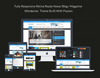 NewsZone | Responsive WordPress News,Magazine,Blog