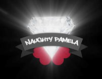 Logo + Video ID. Naughty Pamela