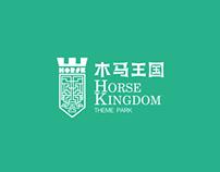 木马王国标志方案  LOGO