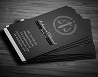 Creative Lawyer Business Card #4