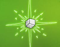 Le Cube - Vert