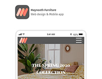 Maynooth Furniture UI/UX Design Project