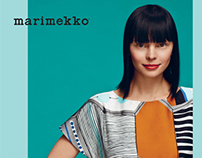 Marimekko Autumn 2013 lookbook
