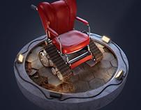 Tank Wheelchair