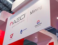 Mining Indaba Stand Branding