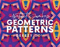 12 Free Modern Geometric Patterns 3