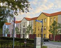 Visualisierung Mehrfamilienhaus Teltow