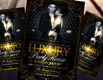 Luxury Party House | Flyer Template