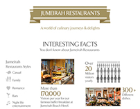 Jumeirah Restaurants infographics