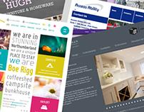 Web Design (Various)