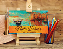 Brand Identity For Neela Sahni - Watercolour Artist