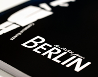 BERLIN - illustrated faces [typography project]